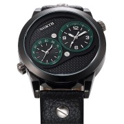 NORTH 6011 Two Time Zones Craetive Watch