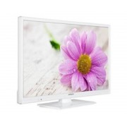 "Hitachi Tv hitachi 24"" led blanco/ 24hbc05/ hd ready/ usb grabador/ 2 hdmi/ 200 bpi/ modo hotel"