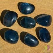 Fluorit albastru rulat 25-30mm