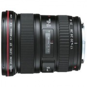 Canon EF 17 - 40 mm f/4L USM Lens (Black)