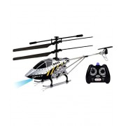 Webby 3.5 Channel Armour Helicopter with Gyro and Lights, Multi Color