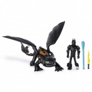 Set de joaca Toothless and Hiccup How to Train Your Dragon
