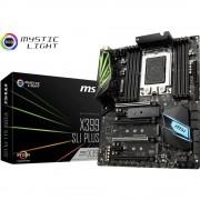 Matična ploča MSI X399 SLI PLUS Baza AMD TR4 Faktor oblika ATX Set čipova matične ploče AMD® X399