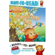Daniel Tiger Ready-To-Read Value Pack: Thank You Day; Friends Help Each Other; Daniel Plays Ball; Daniel Goes Out for Dinner; Daniel Feels Left Out; D, Paperback/***
