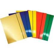 Fascikla color lux guma mix 350 gr A4