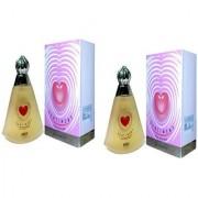 Omsr Sentiment Spray perfume for women combo of two 100 ml*2