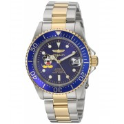 Invicta Watches Invicta Men's 'Disney Limited Edition' Automatic Stainless Steel Casual Watch ColorTwo Tone (Model 22778) BlueTwo Tone