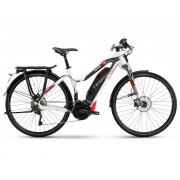 Haibike SDURO Trekking S Da 8.0 500Wh 20-G XT - 18 HB YWC weiß/titan/rot - E-Bikes L