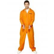 Deguisetoi Déguisement prisonnier orange homme - Taille: XL