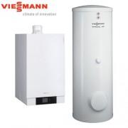 Centrala Termica in Condensatie VIESSMANN VITODENS 200-W 45 kW cu boiler 300 litri