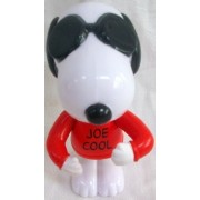 Burger King 2007 Peanuts Joe Cool Snoopy Doll Figure W Woodstock By Burger King