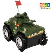 DealBindaas Military Tank Battery Light Sound 1 Pc
