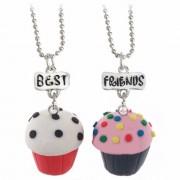 Set 2 Lantisoare Cu Pandantive Best Friends BFF Briose