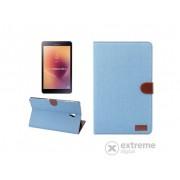 "Husa piele artificiala standing Gigapack pentru Samsung Galaxy Tab A SM-T595 LTE 2018 (10,5""), albastru deschis"
