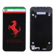 iPhone 4 Bakstycke Ferrari (Svart)