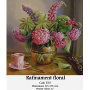 Rafinament floral (kit goblen)