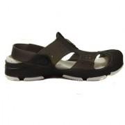 Manthan Black Rubber Crocs For Men