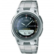 Reloj Casio AW-80D-1AVCF ILLUMINATOR 10 Year Battery-Acero