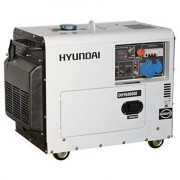 DHY6000SE Hyundai Generator de curent electric , putere 5 kW , motor Hyundai , 230 V