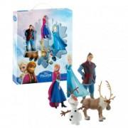 Frozen set cadou 5 figurine (Elsa, Anna, Kristoff, Olaf, Sven)