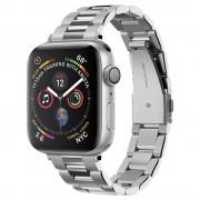 Spigen Kovový řemínek pro Apple Watch 38mm / 40mm - Spigen, Modern Fit Silver