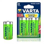 Varta Batterie Nimh D/Lr20 1.2 V 3000 Mah R2u 2-Blister