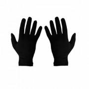 Nawani Men's Women's Black Cotton Riding Full Hand Gloves (Free Size 1 Pair)