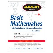 Schaum's Outline of Basic Mathematics with Applications to Science and Technology (Kruglak Haym)(Paperback) (9780071611596)