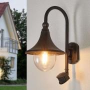 Lampenwelt.com Applique d'extérieur Daphne avec détecteur - LAMPENWELT.com