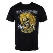 Herren T-Shirt Iron Maiden - Killers World Tour 81 - Blk - ROCK OFF - IMTEE43MB
