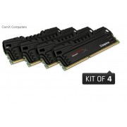 32 GB ( 8Gb x4 kit ) 1600MHz DDR3 PC3-12800 Non-ECC CL9 DIMM XMP Memory