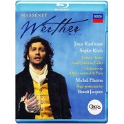 Video Delta Massenet - Werther - Blu-Ray