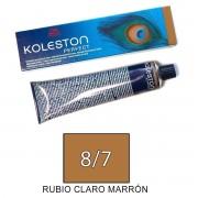 Wella KOLESTON PERFECT Tinte 8/7 tamaño 60ml