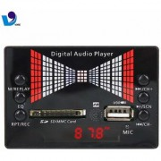 Medha Stereo Music Audio Kit with Voice Recording FM USB Card Remote