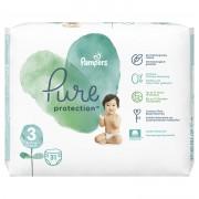 Pampers Pure Protection vel. 3 dětské plenky 31 ks