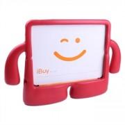 iPad 2 /3 / 4 Fodral Gubbe - Röd färg