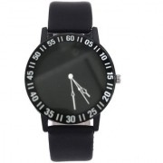 Fashion Creative Watches Women Men Quartz Watch - Black
