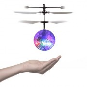 Induction Hand Sensor Helicopter Drone Ball Built-in Color Changing LED Lights Mini Novelty Toys for Toddlers Kids Teens