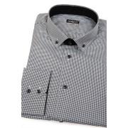 Pánská košile SLIM Černobílá elegance Avantgard 131-2301-41/182