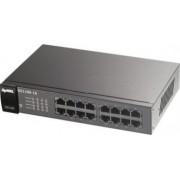 Switch ZyXEL GS-1100-16 16-Port Gigabit Auto-MDIMDIX Fanless