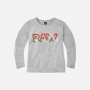 G-star RAW Filles T-Shirt Graphic Gris