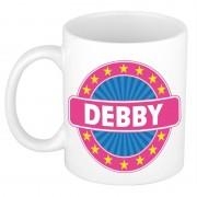 Bellatio Decorations Voornaam Debby koffie/thee mok of beker