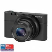 Sony DSC-RX100 - 20Mpx, zoom optic 3.6x f/1.8, LCD 3 inci