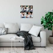 YourSurprise Instacollage fotopanelen - 20x20 - Glanzend (4 tegels)