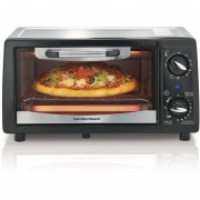 Horno HAMILTON BEACH 31144 color Plateado