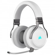 HEADPHONES, Corsair Virtuoso RGB, Wireless with Slipstream High-Fidelity, Gaming, Microphone, White (CA-9011186-EU)