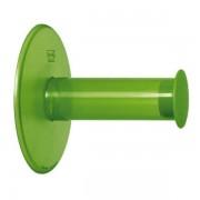 KOZIOL Držák na toaletní papír PLUG´N ROLL - barva zelená, KOZIOL