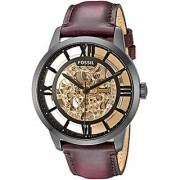 Fossil Analog Brown Dial Mens Watch-ME3098