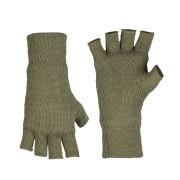 MIL-TEC®   Rukavice Thinsulate™ pletené bez prstů ZELENÉ
