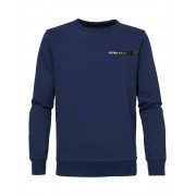 Petrol Industries Sweater R-neck - blauw - Size: Small